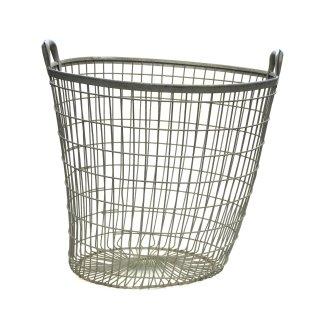 ヴィンテージ ワイヤー バスケット Lサイズ フランス製