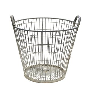ヴィンテージ ワイヤーバスケット フランス Mサイズ