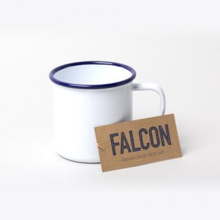 ホーロー マグカップ MUG(ファルコン琺瑯 )ホワイト | FALCON