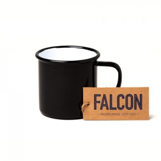 ホーロー マグカップ MUG(ファルコン琺瑯 )ブラック | FALCON