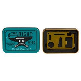 【アウトレット】クレジットカードツール(CREDIT CARD TOOL)定規 -Gentlemen's Hardware -