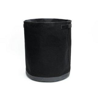 キャンバス ミディアムプランターカバー(ブラック)  | GENERAL SUPPLY