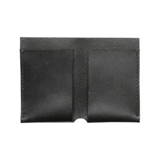 レザー ビジネスカードケース(名刺入れ)(ブラック)    GENERAL SUPPLY