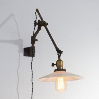 O.C.WHITE ウォールランプ Wall Lamp ガラスシェード 1920-40年代アンティーク