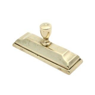 アンティーク 真鍮製 ぺーパーウェイト