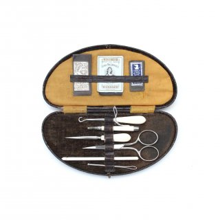 ヴィンテージ 裁縫 キット 糸 針 刺繍