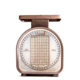1970年代 PELOUZE Scale社製 ヴィンテージ スケール はかり アメリカ