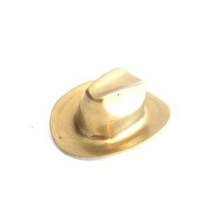 ブラス ハットのオブジェ 真鍮製 帽子 モチーフ