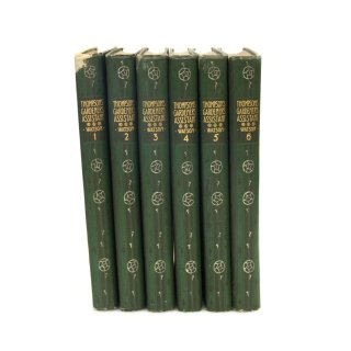 1904年 ガーデニング 植物 図鑑 イギリス 洋古書 全6巻セット
