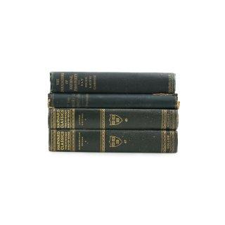 アンティーク 洋書 ・ 洋古書 4冊セット ブルー ハーバード・クラシクス