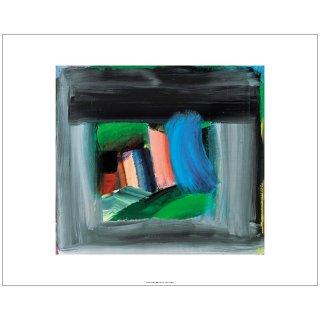 'Rain', Howard Hodgkin「ハワード・ホジキン」, 1984-9 アートプリント