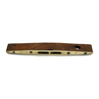 アンティーク 真鍮 木製 水平器 / 水準器 イギリス