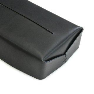 レザー ティッシュ ボックス ケース(ブラック)  | GENERAL SUPPLY