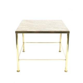 ヴィンテージ マーブルトップ 大理石 真鍮 サイドテーブル