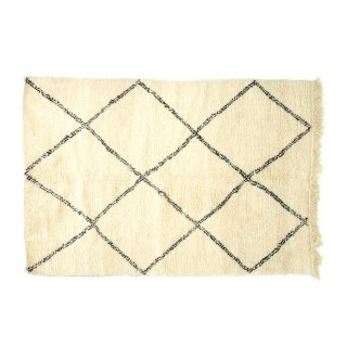 ヴィンテージ ベニワレン ラグマット 絨毯 モロッコ