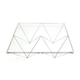コーヒーテーブル ガラストップ ローテーブル