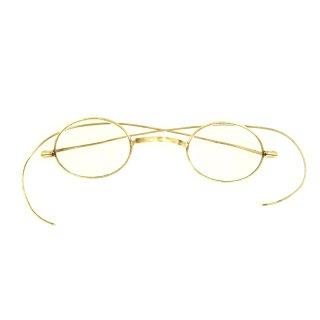 アンティーク ブラス メガネ 眼鏡