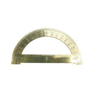 真鍮製 ブラス 分度器 定規 イギリス