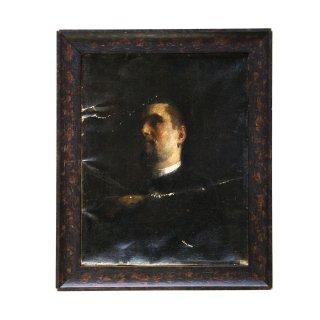 19世紀 アンティーク ポートレート 肖像画