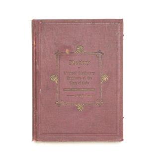 1903年 アンティーク 洋書 ・ 洋古書 ブラウン