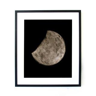 松元康明 「broken moon」 アート 写真 フレームセット