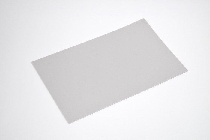 長方形シート 200mm×330mm×2mm グレー