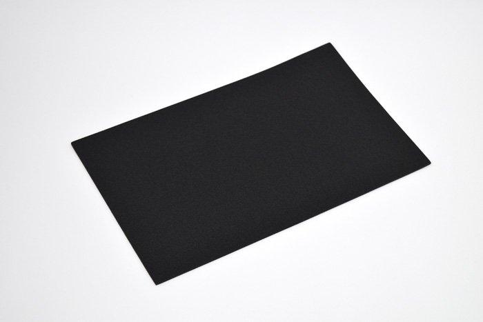 長方形シート 200mm×330mm×2mm ブラック