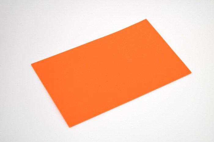 長方形シート 200mm×330mm×3mm オレンジ