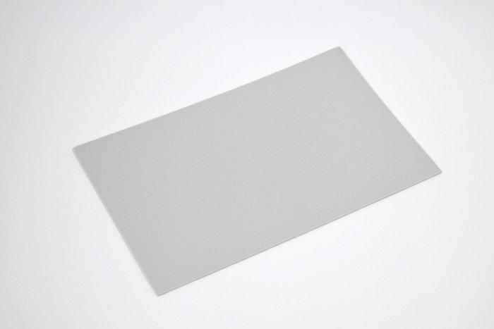 長方形シート 200mm×330mm×3mm グレー