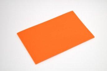長方形シート 200mm×330mm×5mm オレンジ