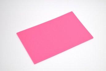 長方形シート 200mm×330mm×5mm ピンク