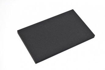 長方形シート 200mm×330mm×20mm ブラック