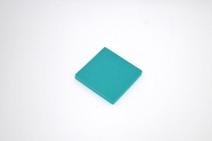 正方形 100mm×100mm×10mm グリーン