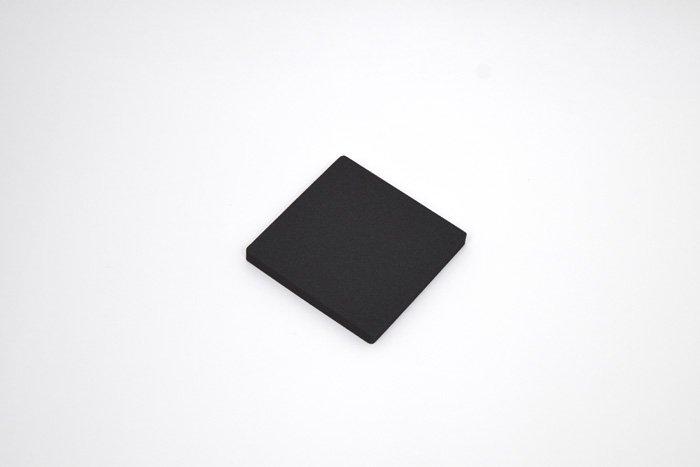 正方形 100mm×100mm×10mm ブラック