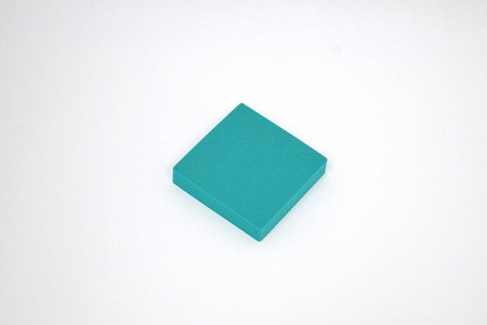 正方形 100mm×100mm×20mm グリーン