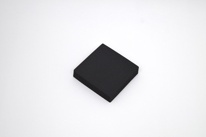 正方形 100mm×100mm×20mm ブラック
