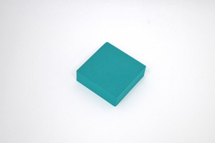 正方形 100mm×100mm×30mm グリーン