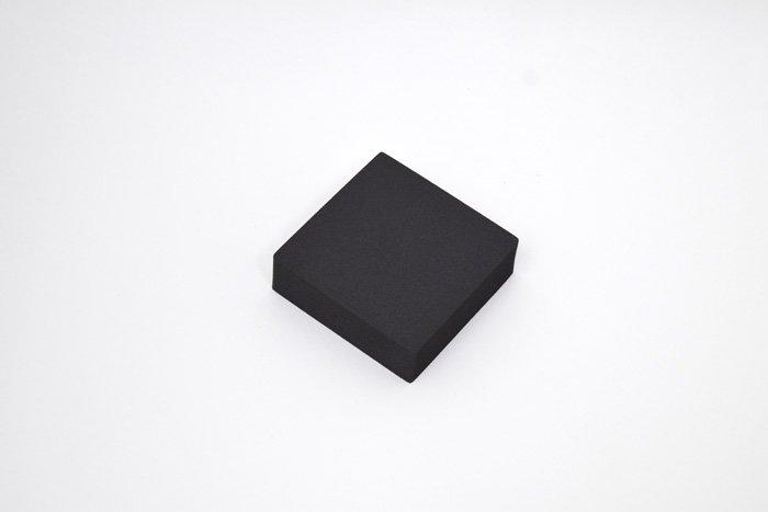 正方形 100mm×100mm×30mm ブラック