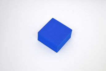 正方形 100mm×100mm×50mm ブルー