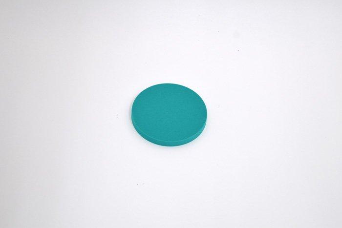 丸型 直径100mm×厚さ10mm グリーン