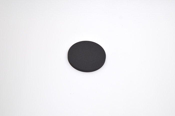 丸型 直径100mm×厚さ10mm ブラック
