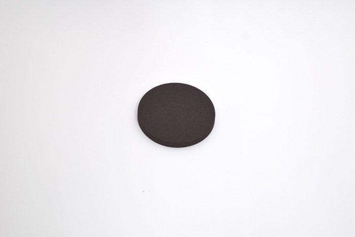 丸型 直径100mm×厚さ10mm ダークブラウン