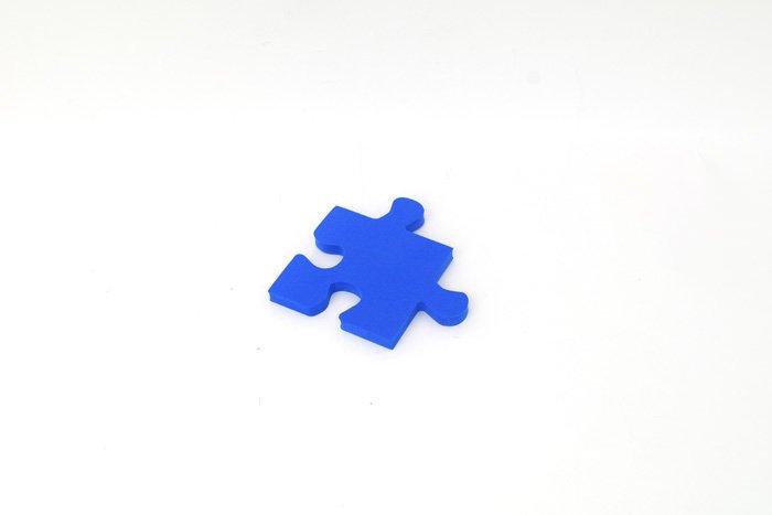 パズル 10mm×130mm×130mm ブルー