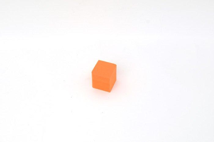 サイコロ 50mm×50mm×50mm オレンジ