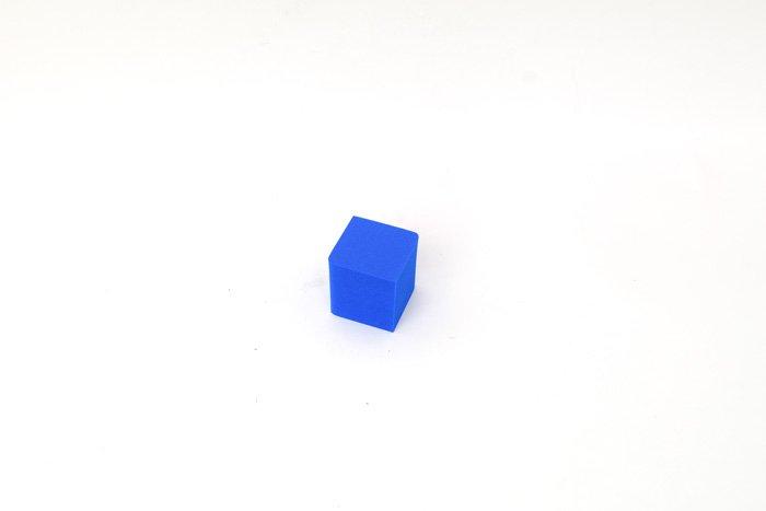 サイコロ 50mm×50mm×50mm ブルー