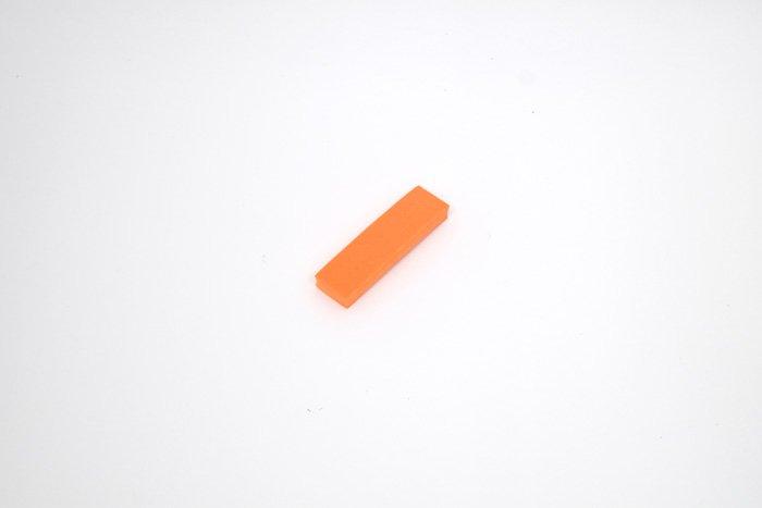 チップタイプ 95mm×25mm×10mm オレンジ