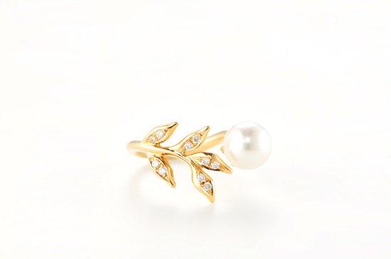 kikyo ring with pearl