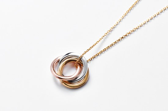 mobius trinity necklace