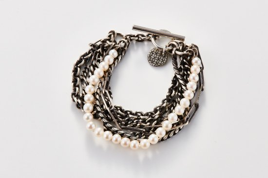 BUNDDLED CHAINS-BRACELET