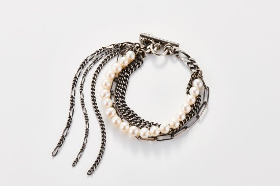 LAYERED CHAINS-BRACELET